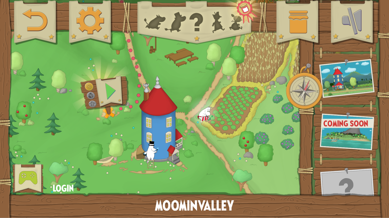 Moomin Adventures: Jam Run- screenshot