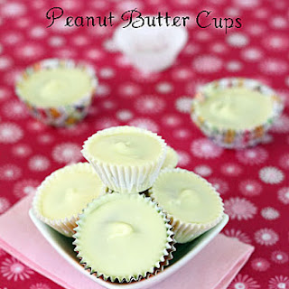 White Chocolate Peanut Butter Cups.