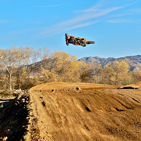 Pancakes by Zachary Zygowicz - Sports & Fitness Motorsports ( motocross, dirtbike, dirty, motorcycle, whip )