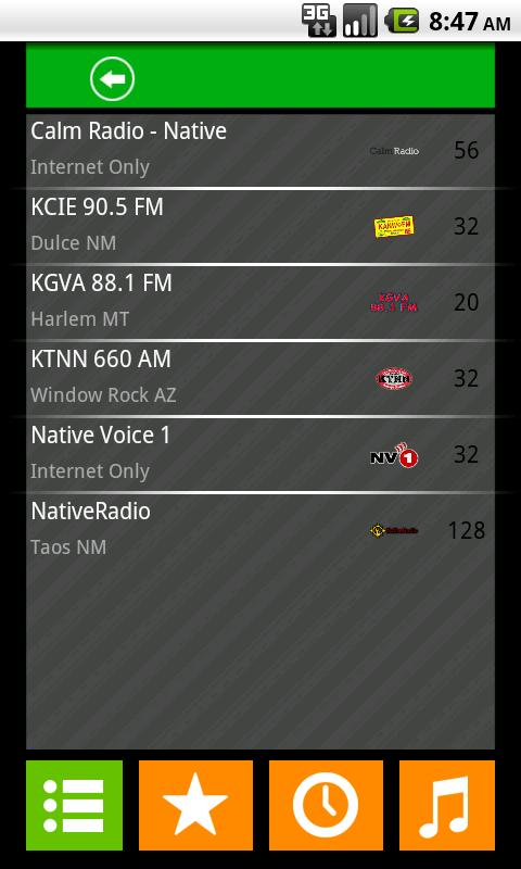 Native American Radio - screenshot