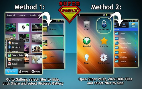 Super Vault - hide pictures Screenshot 2