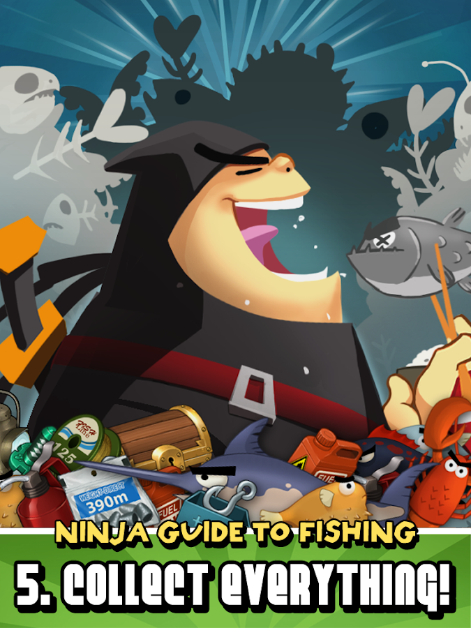 Ninja Fishing - screenshot