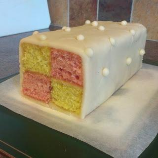 Belly-Friendly Battenburg Cake
