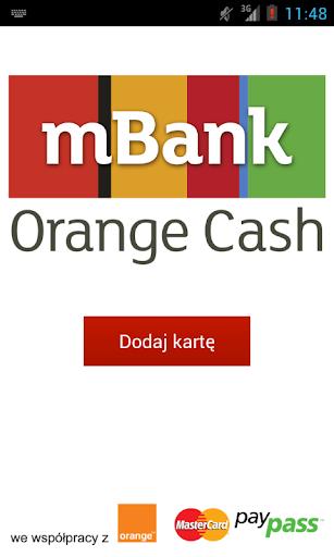 mBank Orange Cash