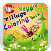 Veggie Village Coloring Book