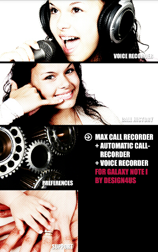 Call recorder for Galaxy note