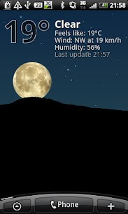 True Weather LWP: Meteorología v6.05 APK 4