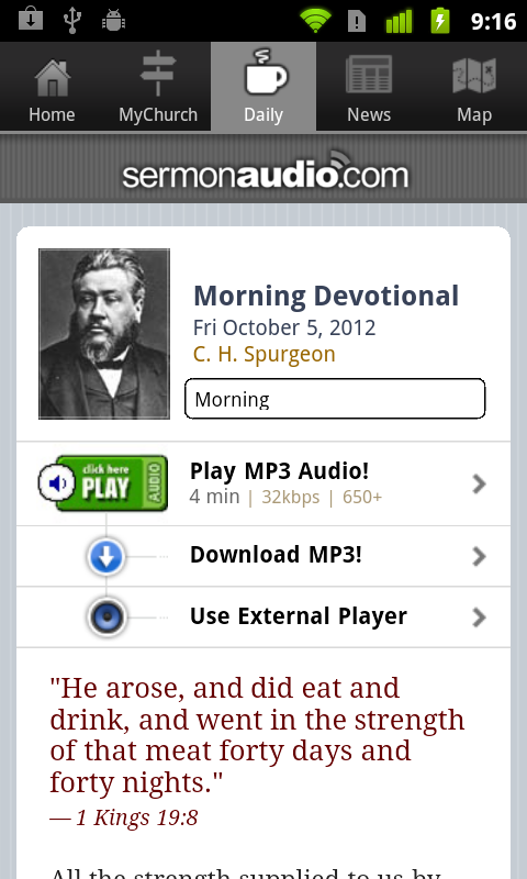 SermonAudio Legacy Edition- screenshot