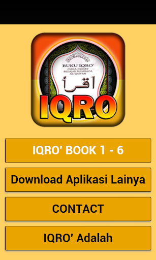 Iqro Digital 1 - 6