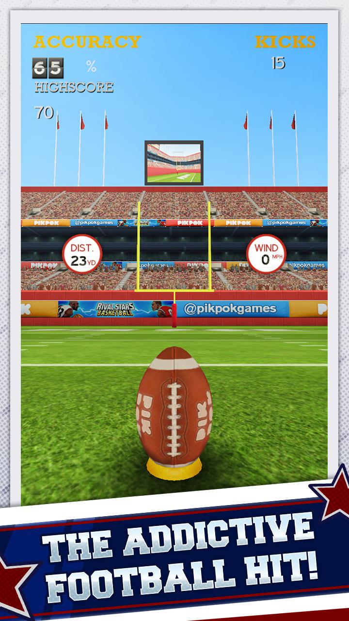 Flick Kick Field Goal Kickoff screenshot #1