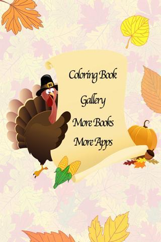 Thanksgiving Coloring Book!- screenshot
