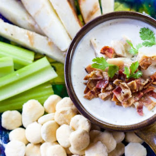 Grilled New England Clam Chowder Dip.