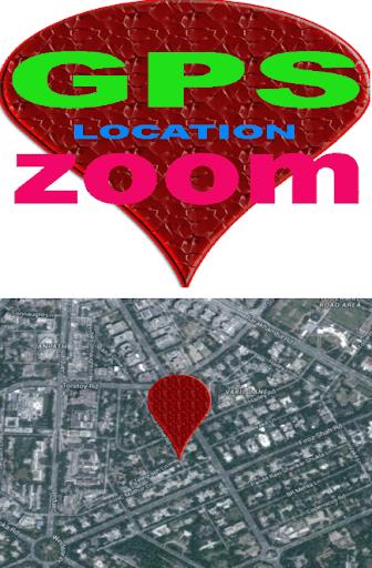 GPS LOCATION ZOOM