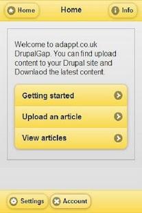 Drupal Phonegap - screenshot thumbnail
