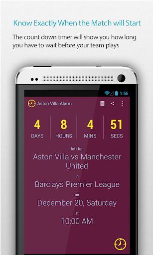 Aston Villa Alarm Pro