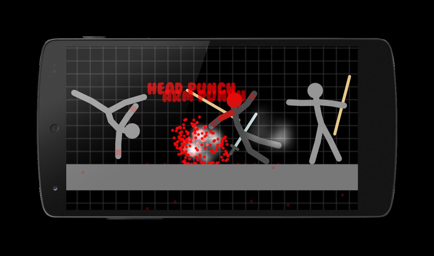 Screenshots of Stickman Warriors for iPhone