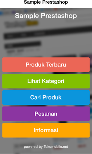 Sample Prestashop