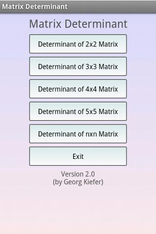 矩陣運算計算器