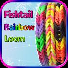 Fishtail Rainbow Loom Bracelet icon