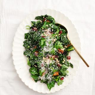 Winter Roasted Kale Salad