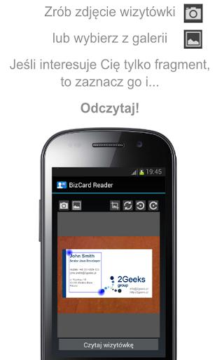 BizCard Reader