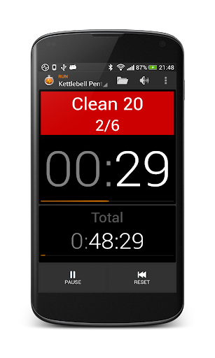 Impetus Interval Timer Fitness app screenshot 1 for Android