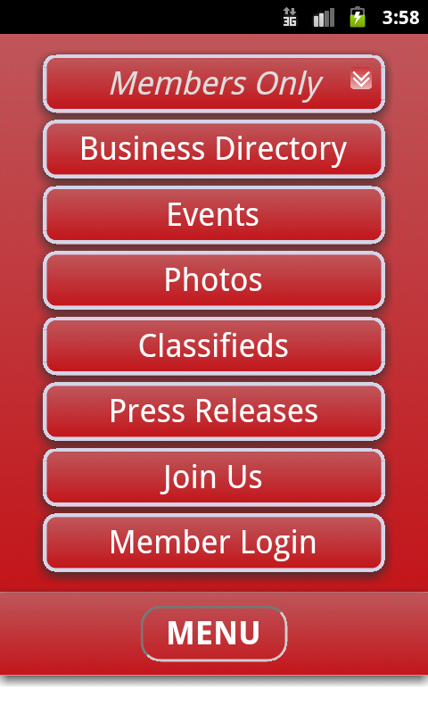 Baird Chamber of Commerce- screenshot