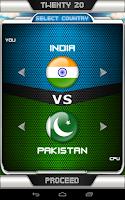 Screenshot of International Cricket Manager