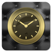 Gold Clock Widget