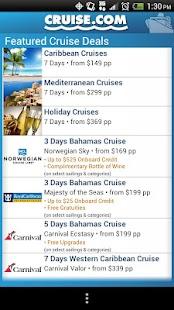 Cruise.com- screenshot thumbnail