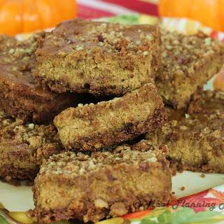 Pumpkin-Pecan Cheesecake Bars