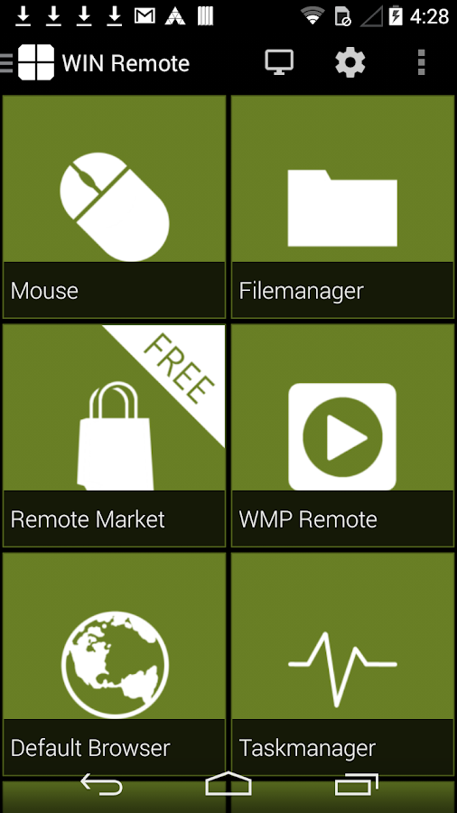 WIN - Remote Control- screenshot
