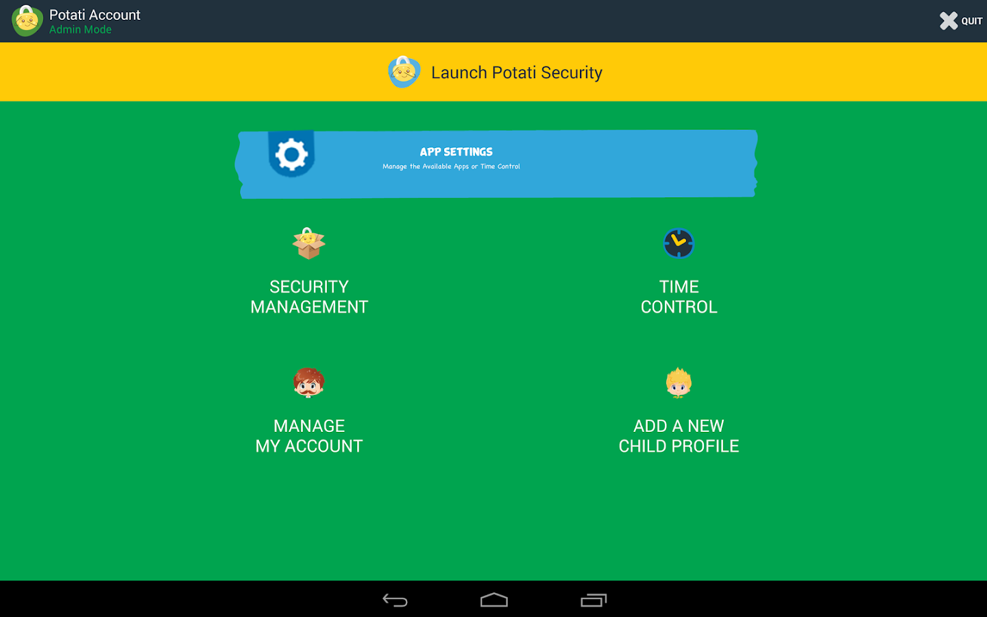 POTATI Security - screenshot