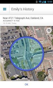 AT&T FamilyMap™- screenshot thumbnail