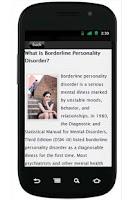 Screenshot of BorderlinePersonality Disorder