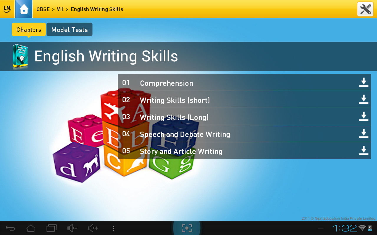 LearnNext - screenshot