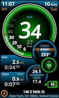 Screenshot of Ulysse Speedometer Pro