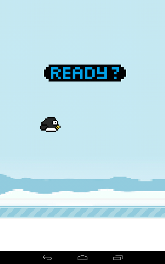 Glidey Penguin- screenshot
