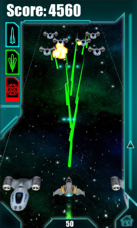 Galactic Striker 3D Free - screenshot