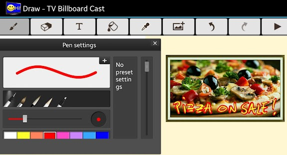 TV Billboard Creator- screenshot thumbnail