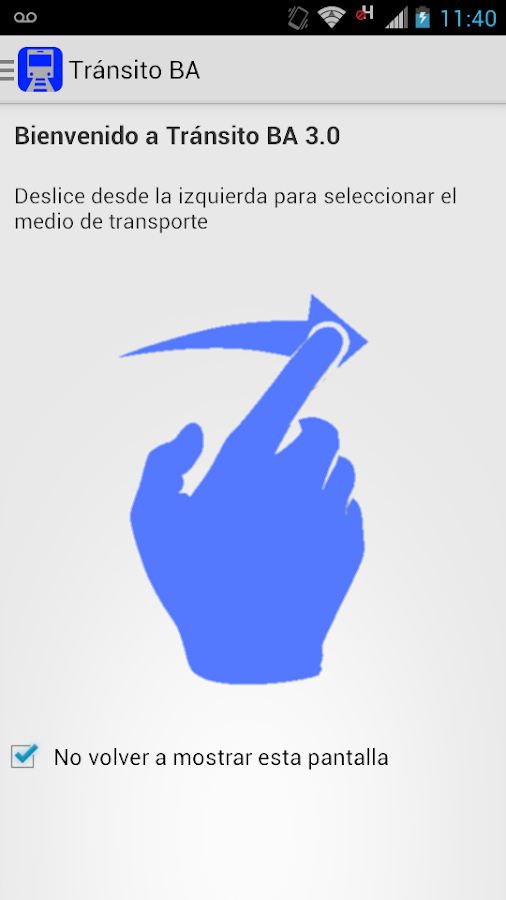 Transito BA - screenshot