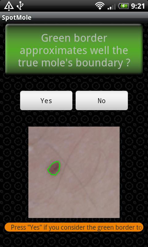 SpotMole - screenshot