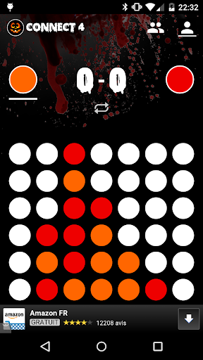 Connect 4 Game Free Halloween
