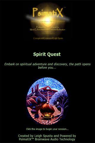 Brainwave Audio Spirit Quest - screenshot