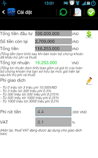 Viet stock notifications - screenshot thumbnail