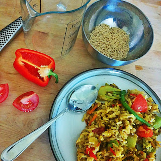 Vegan Curry Fried Rice
