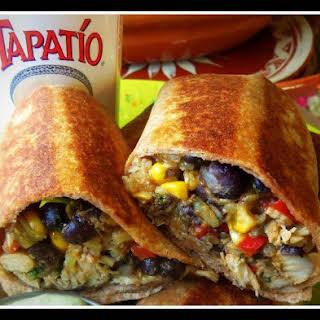 Southwestern Chicken Burrito.