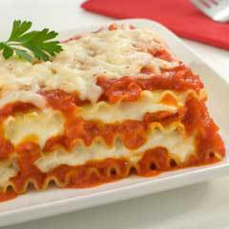 Ragu No Boiling Lasagna (featuring Ragu 1 Lb. 8 Oz. Jar)