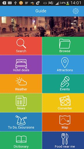 Chiang Mai Guide Hotels Map