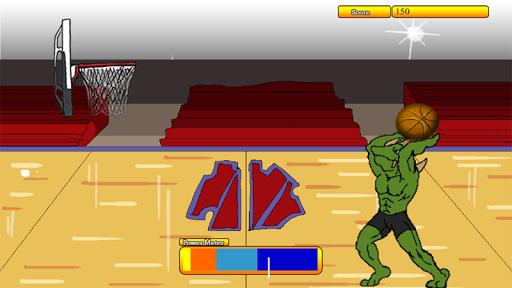 バスケットボールフープ怪獣ヒューゴ